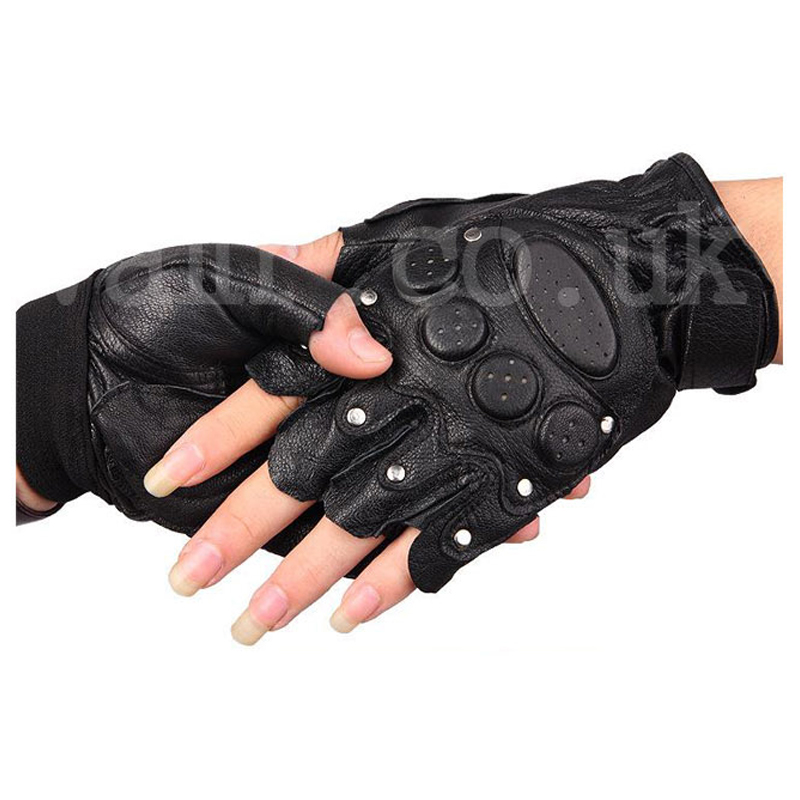 Half Finger Shooting Gloves Black