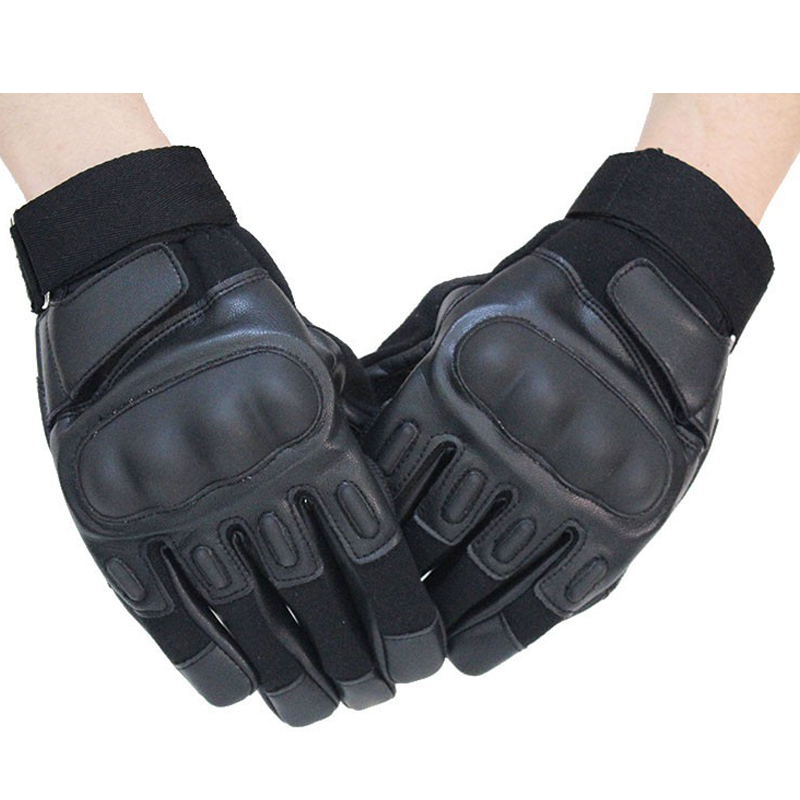 Full Finger Tactical Gloves Black