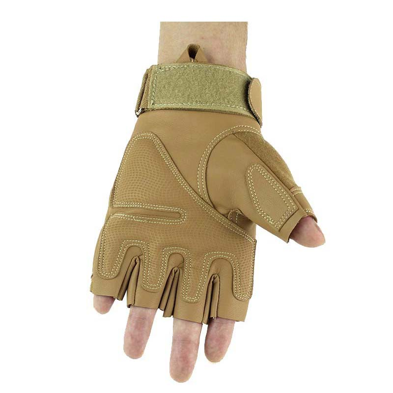 Shooting Gloves Brown