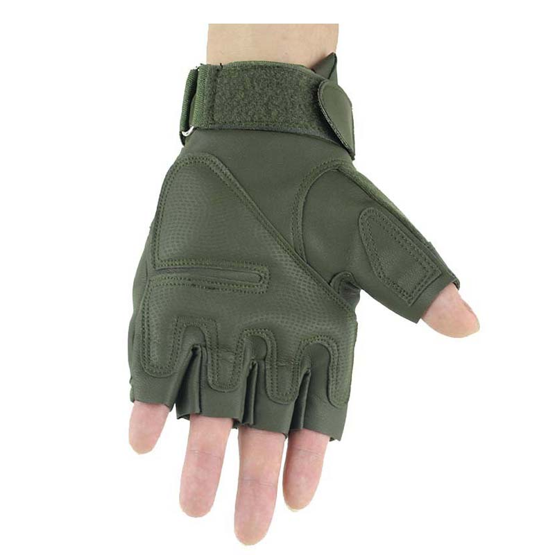 Shooting Gloves Green
