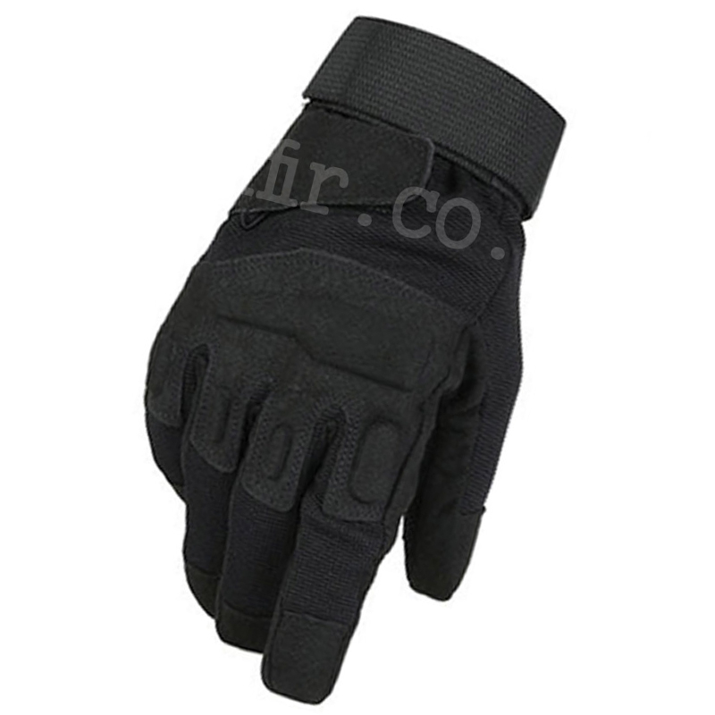 New Half Finger Shooting Gloves Black