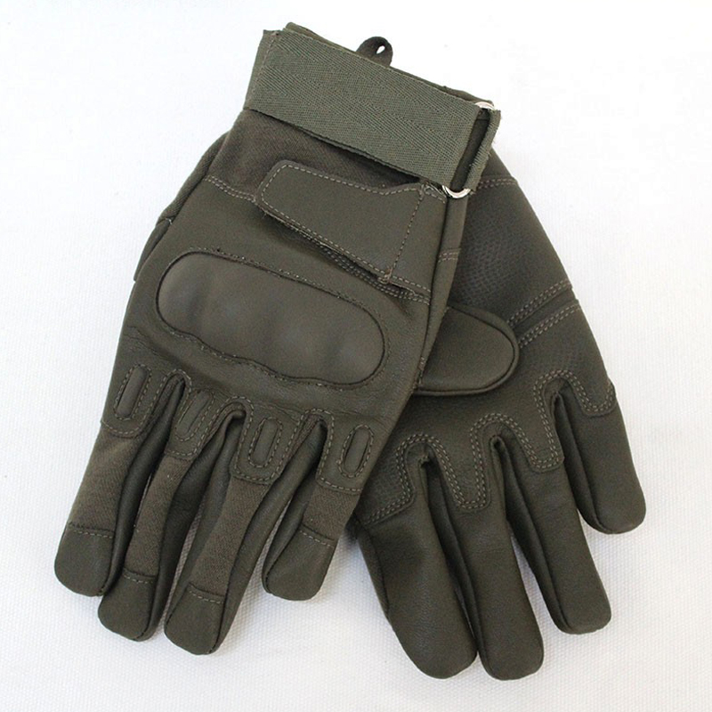 Full Finger Tactical Gloves Green